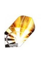 ONE80 - Dartboard flame slim