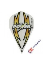 Phil Taylor Vapor White and Gold Target Power Arc Bolt  100 Micron